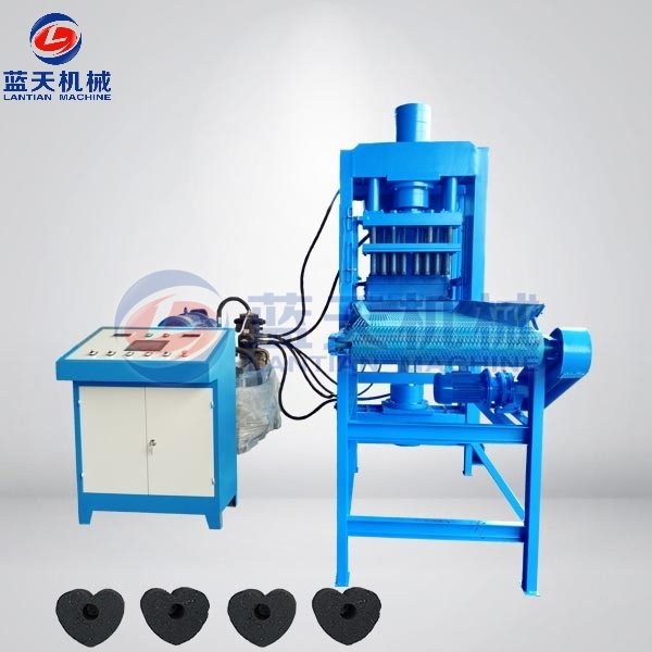 Wood Sawdust Charcoal Briquette Making Machine