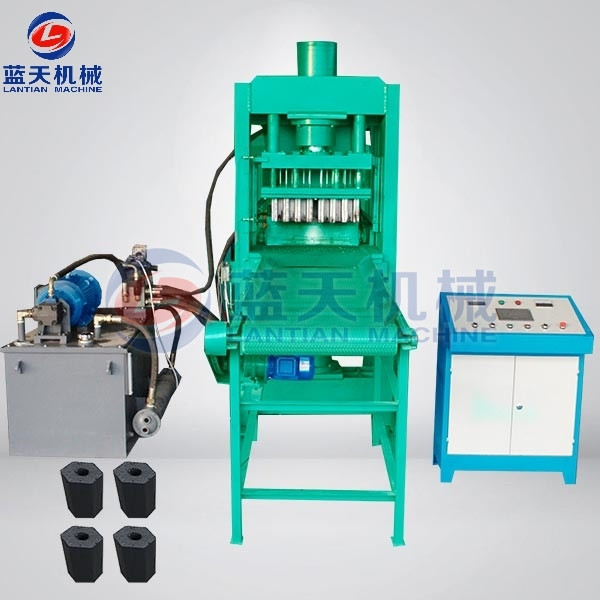 Hazelnut Shell Charcoal Briquette Machine