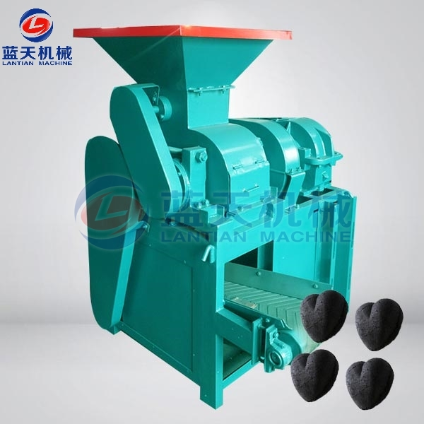 Sawdust Charcoal Ball Machine