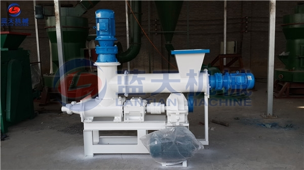 Customers Site of Shisha Charcoal Extruder