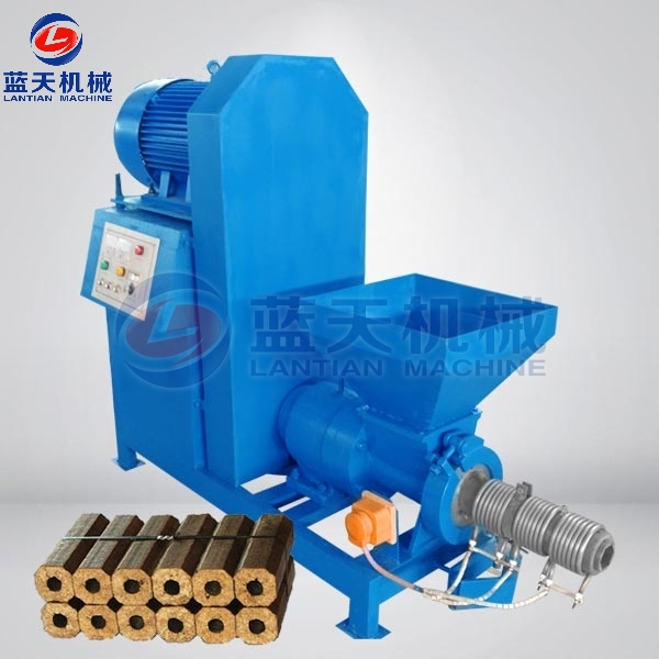 Rice Husk Extruder Machine