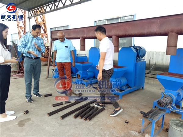 Customers Site Of Extruder Powder Extruder Machine