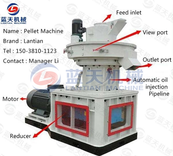 Details of Wood Sawdust Pellet Machine