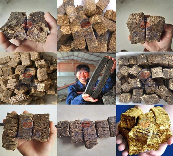 Products of Straw Briquette Making Machine