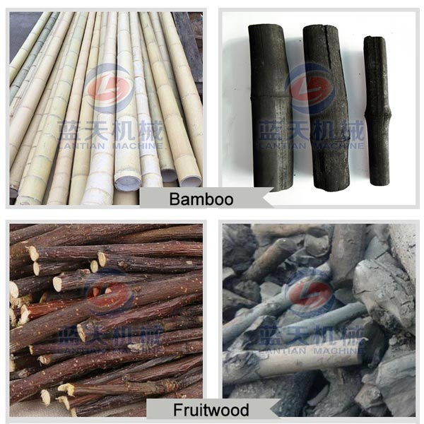 Carbonized Effect of Bamboo Carbonization Furnace