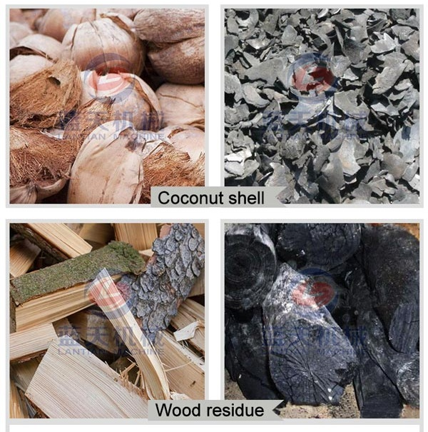 Carbonized Effect of Coconut Shell Carbonization Furnace