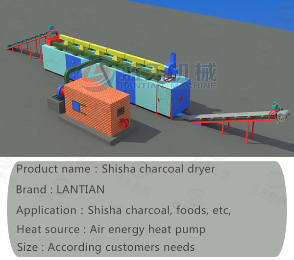 Parameter of Shisha Charcoal Dryer