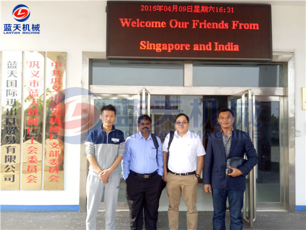 Singapore And India Customers